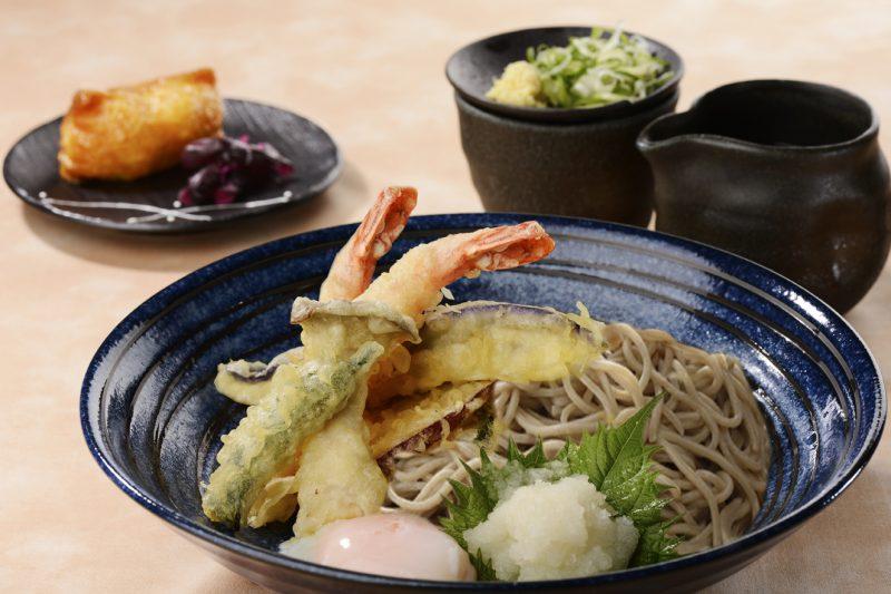 信州蕎麦と天婦羅御膳