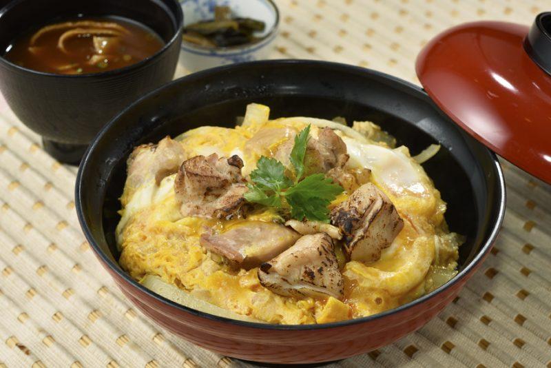 合戦ランチ「近江鶏の親子丼」